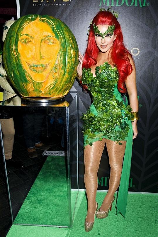 Kim na Midory Green párty v New Yorku.
