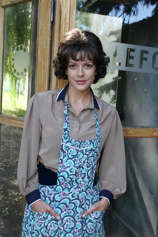 Andrea Kerestešová se proslavila díky seriálu Vyprávěj.