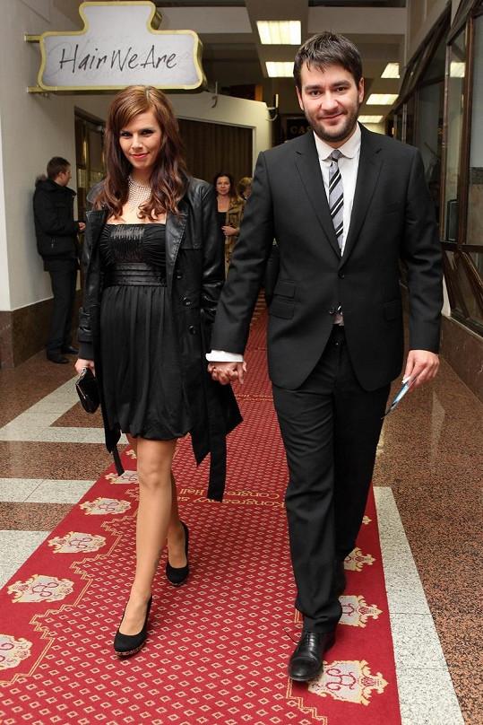 Marek Ztracený a Marcela Skřivánková