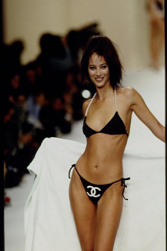 Americká modelka v roce 1993.