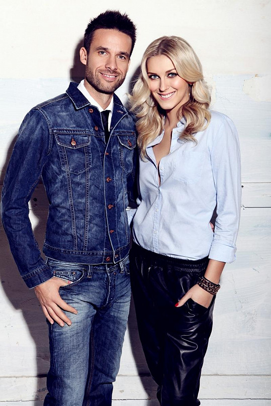 Roman Juraško a Zorka Kepková vedle sebe působí velmi sympatickým dojmem.