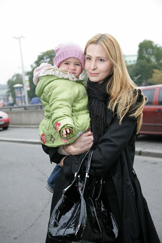 Pyšná maminka Ivana Gottová.