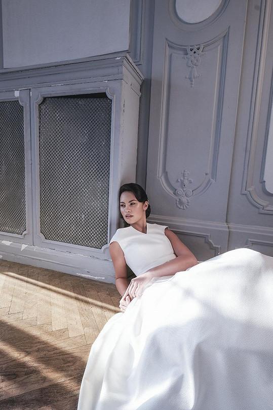 Roli nevěsty si zkusila, ale svatbu odkládá.