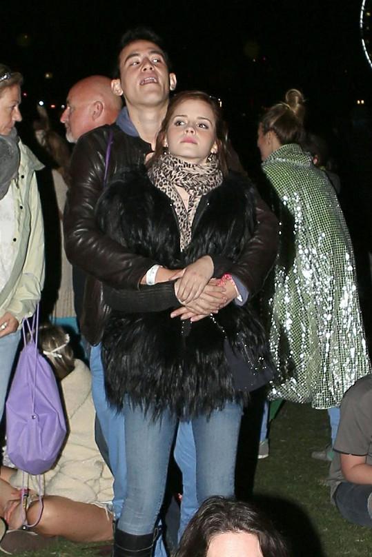Emma Watson se svým přítelem Willem Adamoviczem