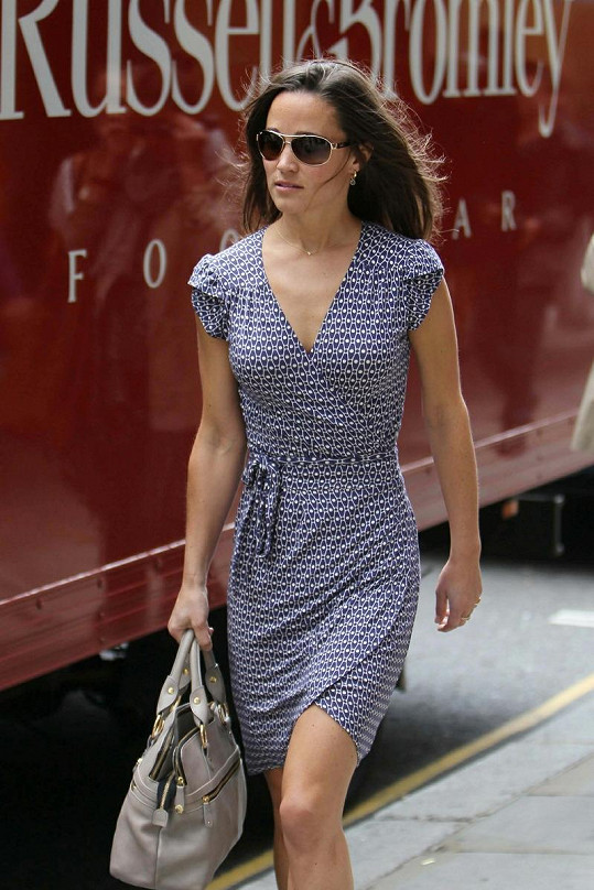 Pippa Middleton vyrazila na nákupy.