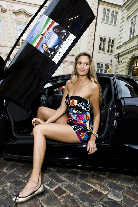 Michaela Štoudková patří mezi nejvíc sexy Miss.