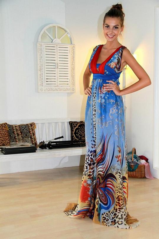 Aneta Grabcová si vezme několikatery večerní šaty