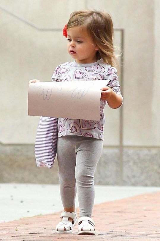Z malé Marion bude jistě vášnivá čtenářka.