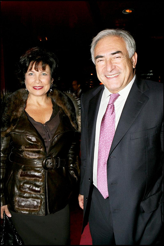 Dominique Strauss-Kahn s manželkou Anne Sinclair.
