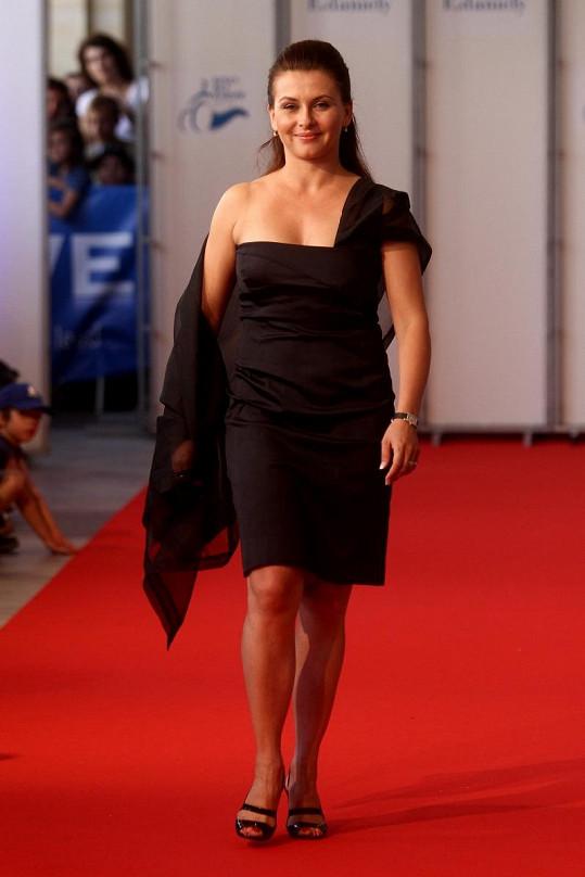 Dana Morávková také vyzkoušela roli modelky.