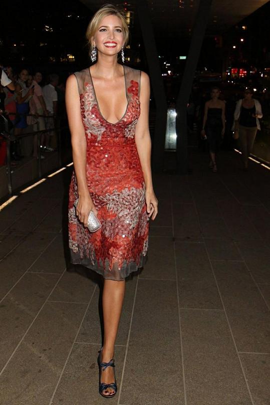 Ivanka na New York Fashion Weeku.