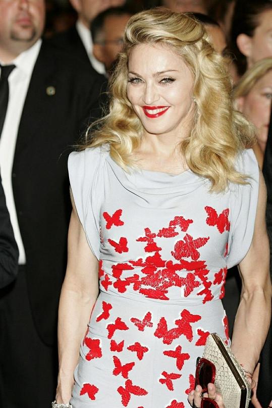Madonna vypadala skvostně.