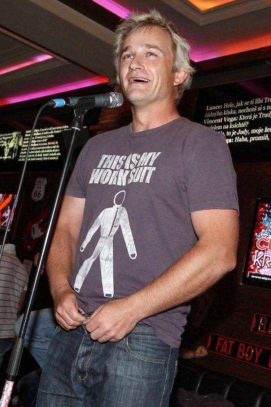 Kryštof Michal je známý díky svým kapelám.
