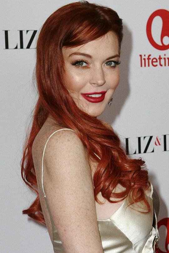 Lohan se představí jako Elizabeth Taylor.