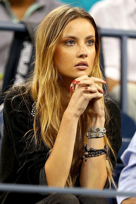 Ester Sátorová byla nervózní za svého přítele Tomáše Berdycha.