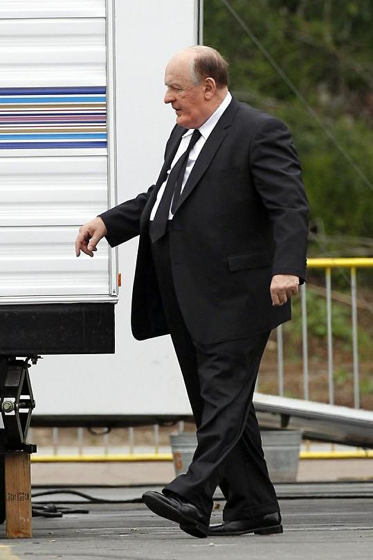 Anthony Hopkins natáčí svůj nový film Hitchcock.