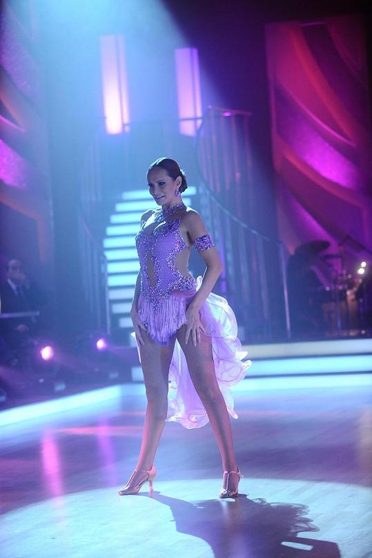 Monika Absolonová skončila ve StarDance těsně před branami finále.