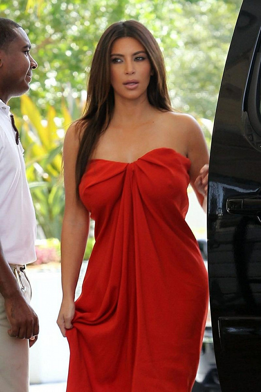 Krásná Kim Kardashian