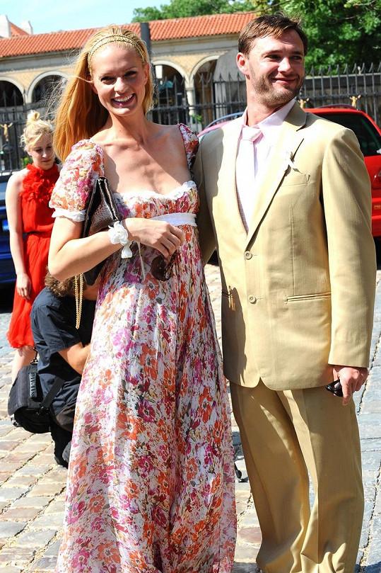 Karolina Bosáková s přítelem Tomášem Fílou