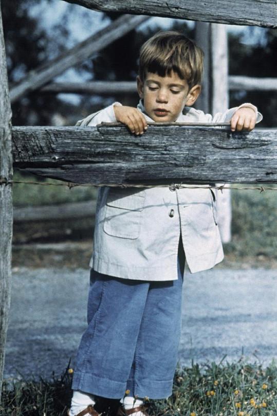 John byl roztomilé dítko.