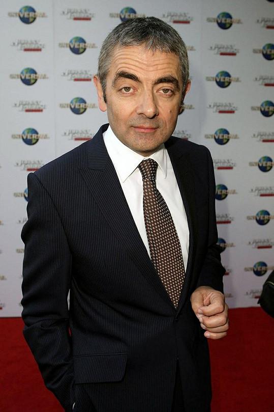 Britský herec Rowan Atkinson.
