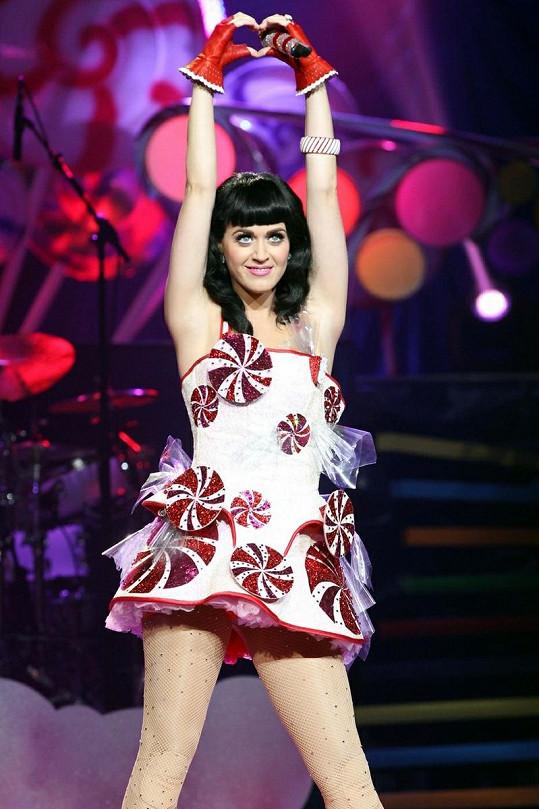 Zpěvačka Katy Perry.