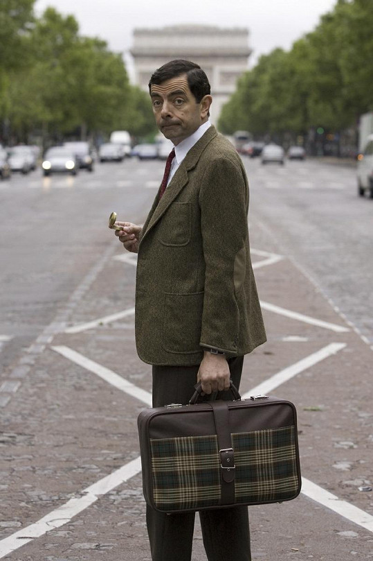 Mr. Bean se loučí.