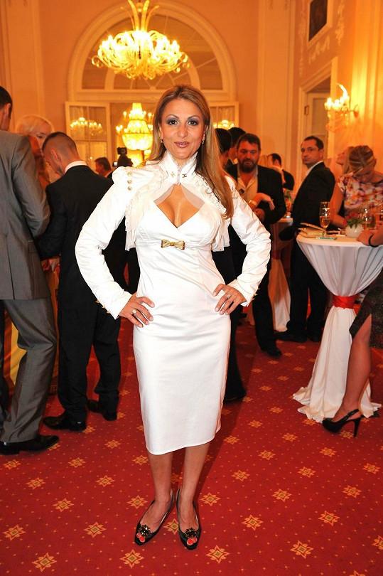 Yvetta Blanarovičová má skvělou figuru.