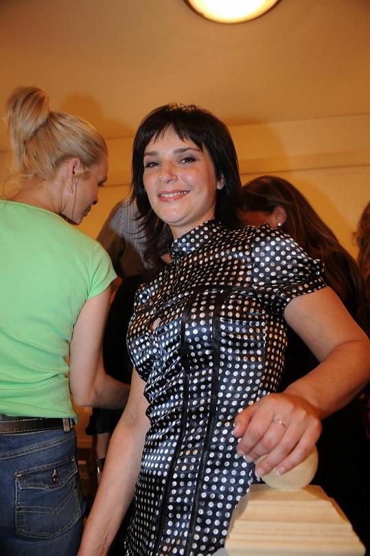 Zuzana Dřízhalová byla veselá kopa.
