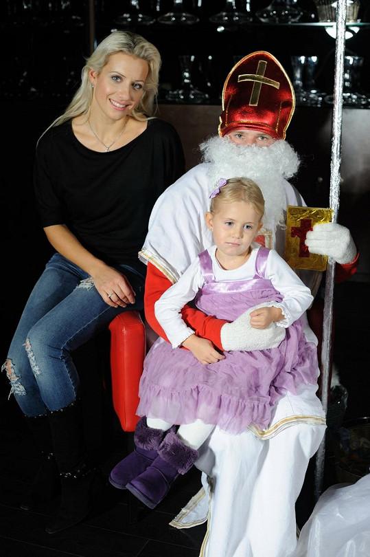 Tereza Mátlová s dcerou Emily Ann.