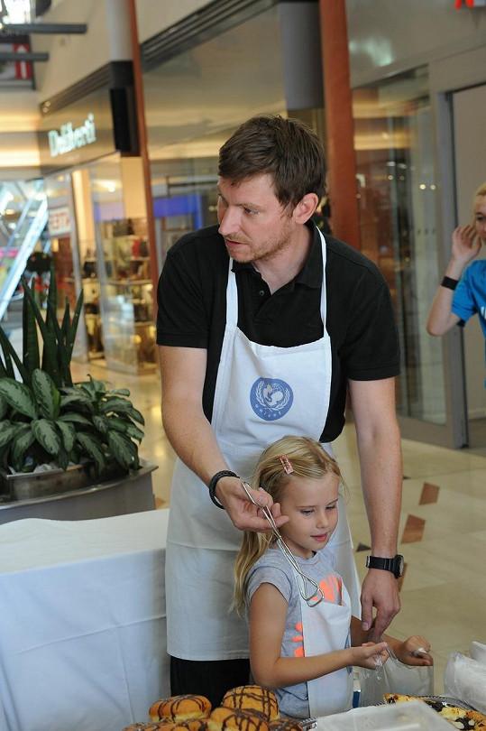 David Švehlík s dcerou Sofií