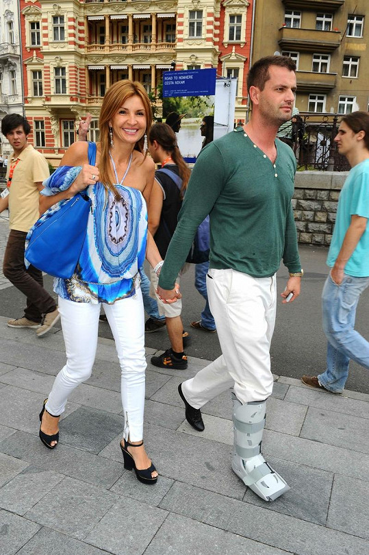 Tamara a Roman vypadají velmi šťastně.