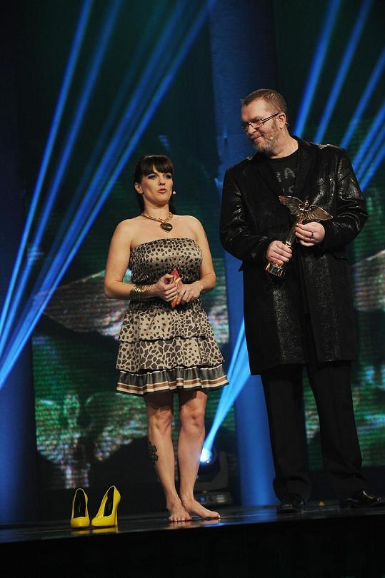 Marta Jandová a Richard Müller.