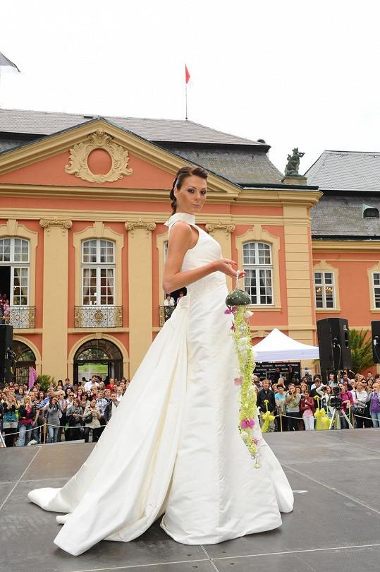 Tak by vypadala jako nevěsta Tereza Zimová.