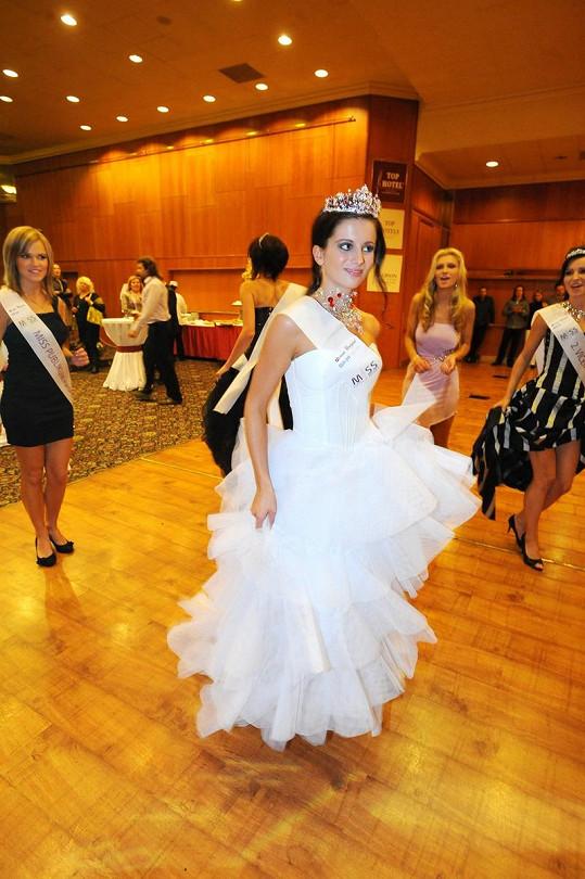 Nová Miss si užila i slavnostní ples.