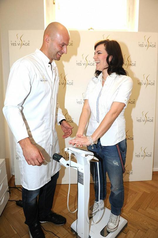 Marta se radila s dietologem.
