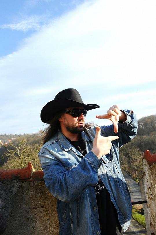 Robert Kodym si dělal během natáčení reportážní fotografie.