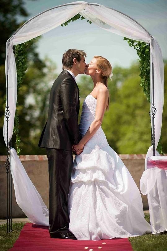 Svatba se konala na hradě Špilberk.