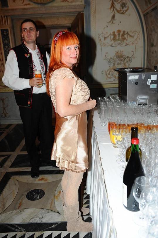 Bára Štěpánová má velmi výrazný profil.