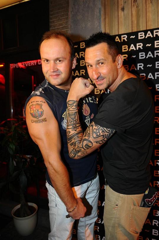 Marek Vít na tatoo párty s DJem Uwou