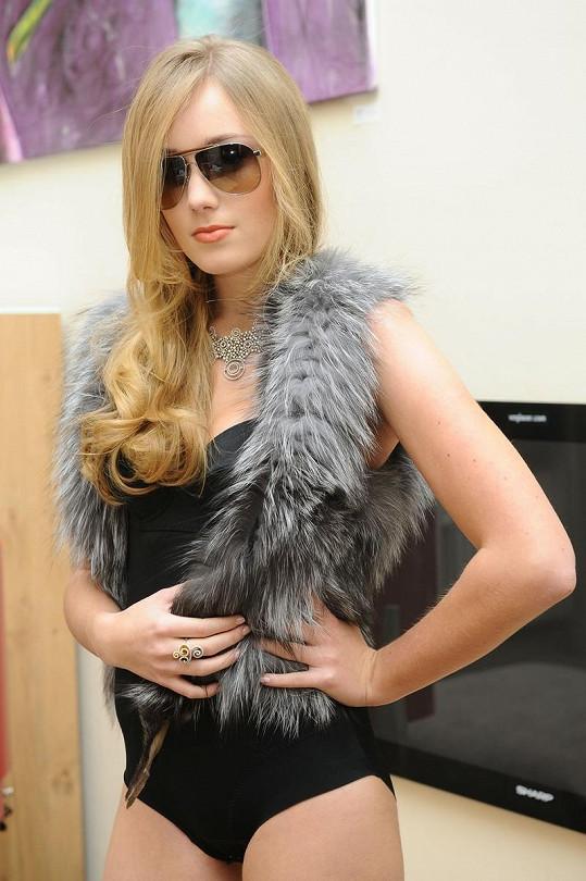 Snímky nafotila i modelka Jessica.