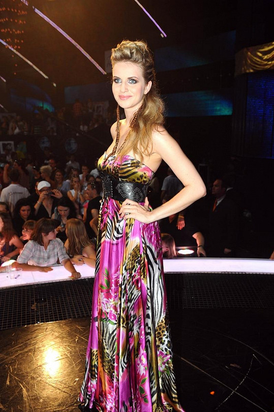 Gabriela Gunčíková se může pochlubit nádhernou postavou.