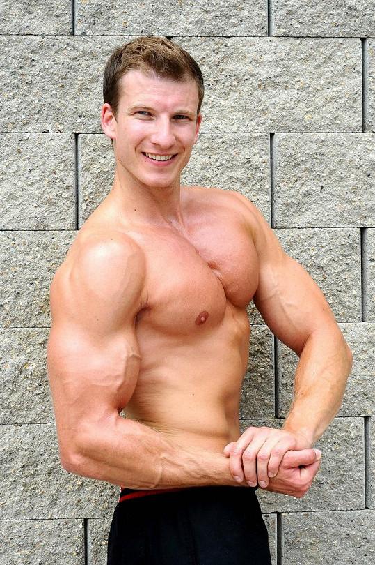 Miroslav Kolenyak, 24 let, fitness trenér z Dolního Jelení
