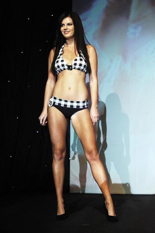 Dominika na finále Miss Hasička.