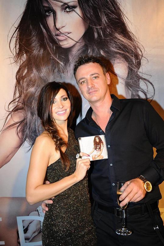 Tereza s přítelem Reném Mayerem.