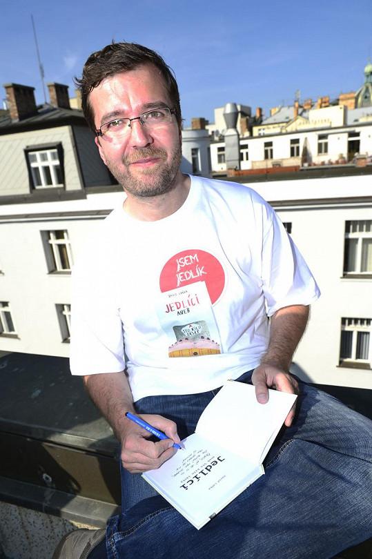 Autor scénáře a knihy k Jedlíkům David Laňka.