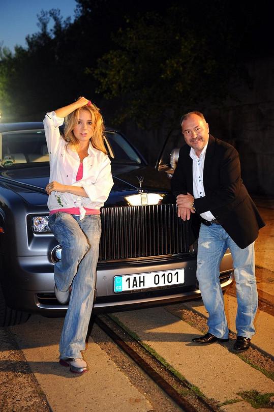Lucie Vondráčková s Michalem Davidem nazpívali duet.