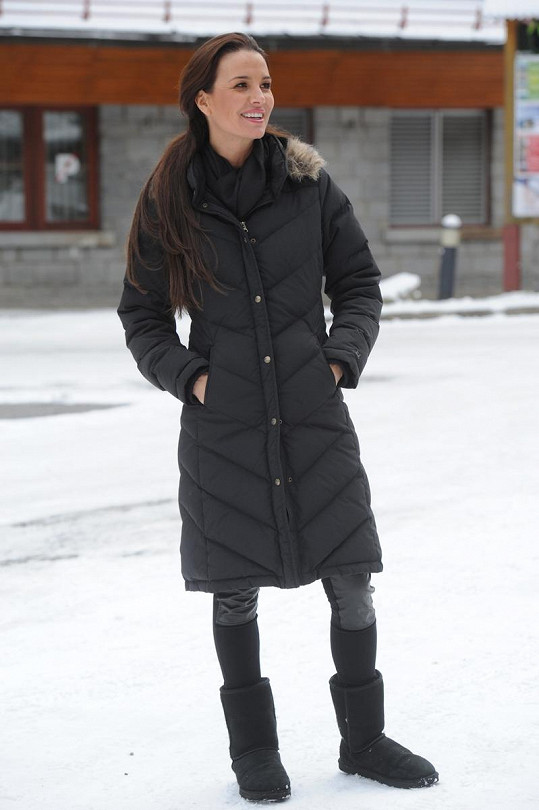 Silvia Lakatošová nechyběla na otevírání zimní sezóny v Jasné v Nízkých Tatrách.