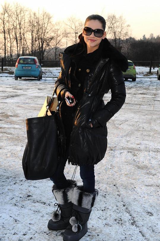 Hana Svobodová je velká kočka.