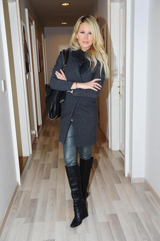 Simona Krainová má po porodu druhého syna dokonalou postavu.